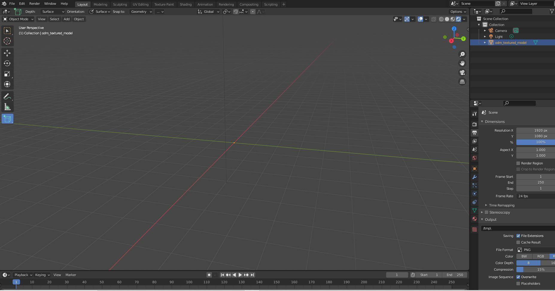 Blender Screen Shot2